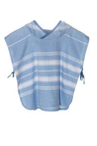 KipKep Blenker poncho 1-3 jaar blauw, Blauw