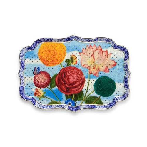 Pip Royal Dienblad 26 cm Flowers