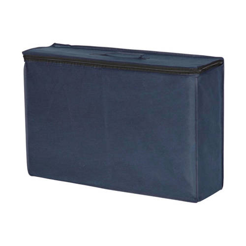 Basicline matras voor campingbed 60x120 cm blauw
