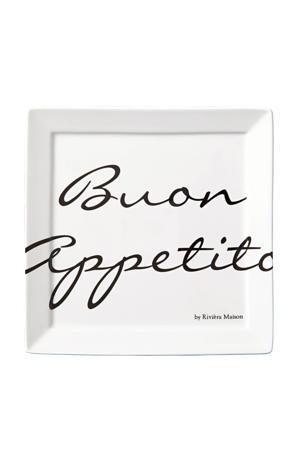 gebaksbord Buon Appetito (Ø18 cm) (set van 2)