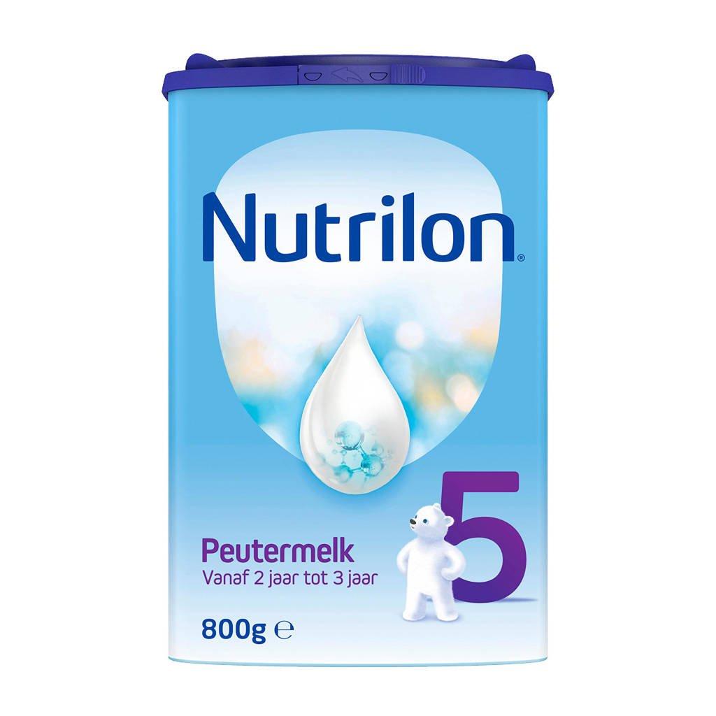 Nutrilon  5 Peutermelk - flesvoeding - vanaf 2 jaar - 800 gram, Vanaf 24 maanden