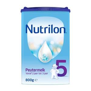 5 Peutermelk - flesvoeding - vanaf 2 jaar - 800 gram