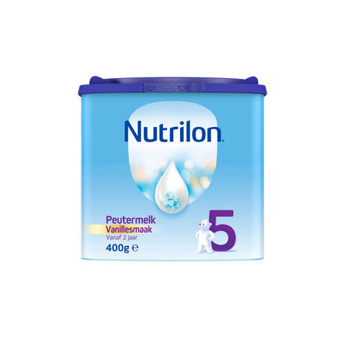 Nutrilon 5 Peuter Groeimelk Vanaf 2 Jaar Vanille Smaak (voorheen Nutrilon 2+) vanaf24mnd 400gram