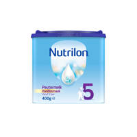 Nutrilon  Peutermelk 5 Vanille - vanaf 2 jaar - 400 gram - Flesvoeding
