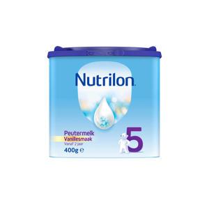 Peutermelk 5 Vanille - vanaf 2 jaar - 400 gram - Flesvoeding