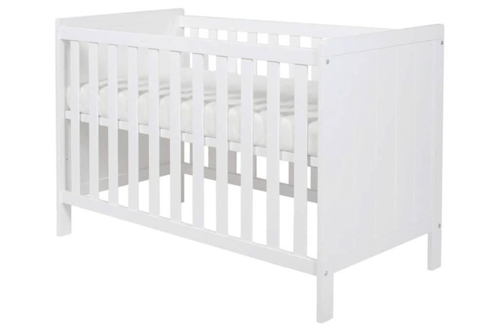 Standaard Afmetingen Babybed.Basicline Ralph Ledikant 60x120 Cm Wit Wehkamp