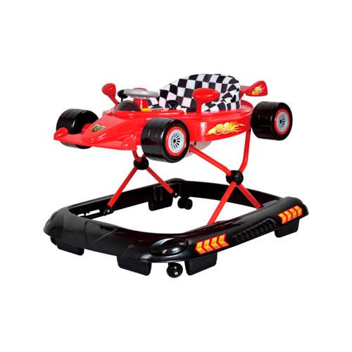 Basicline Formula 1 loopstoel rood kopen