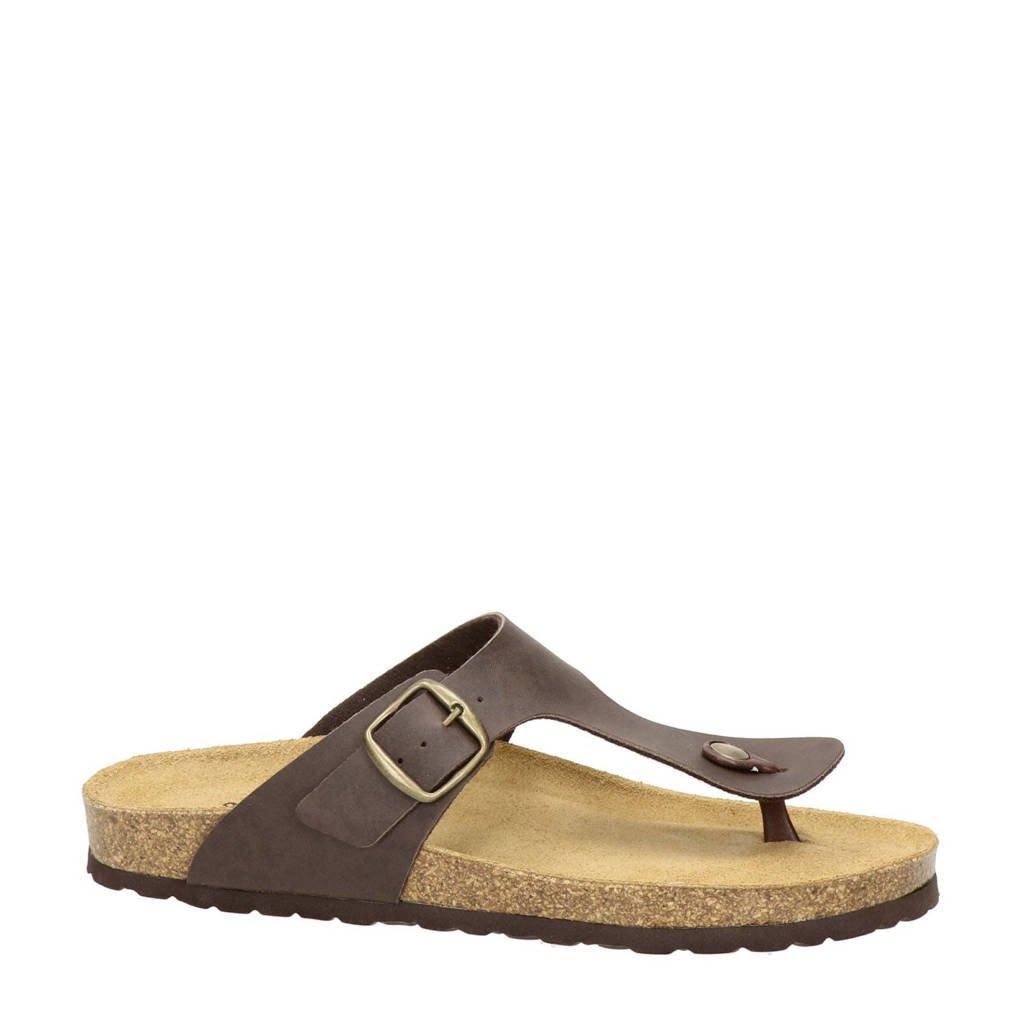 Nelson   slippers, Bruin