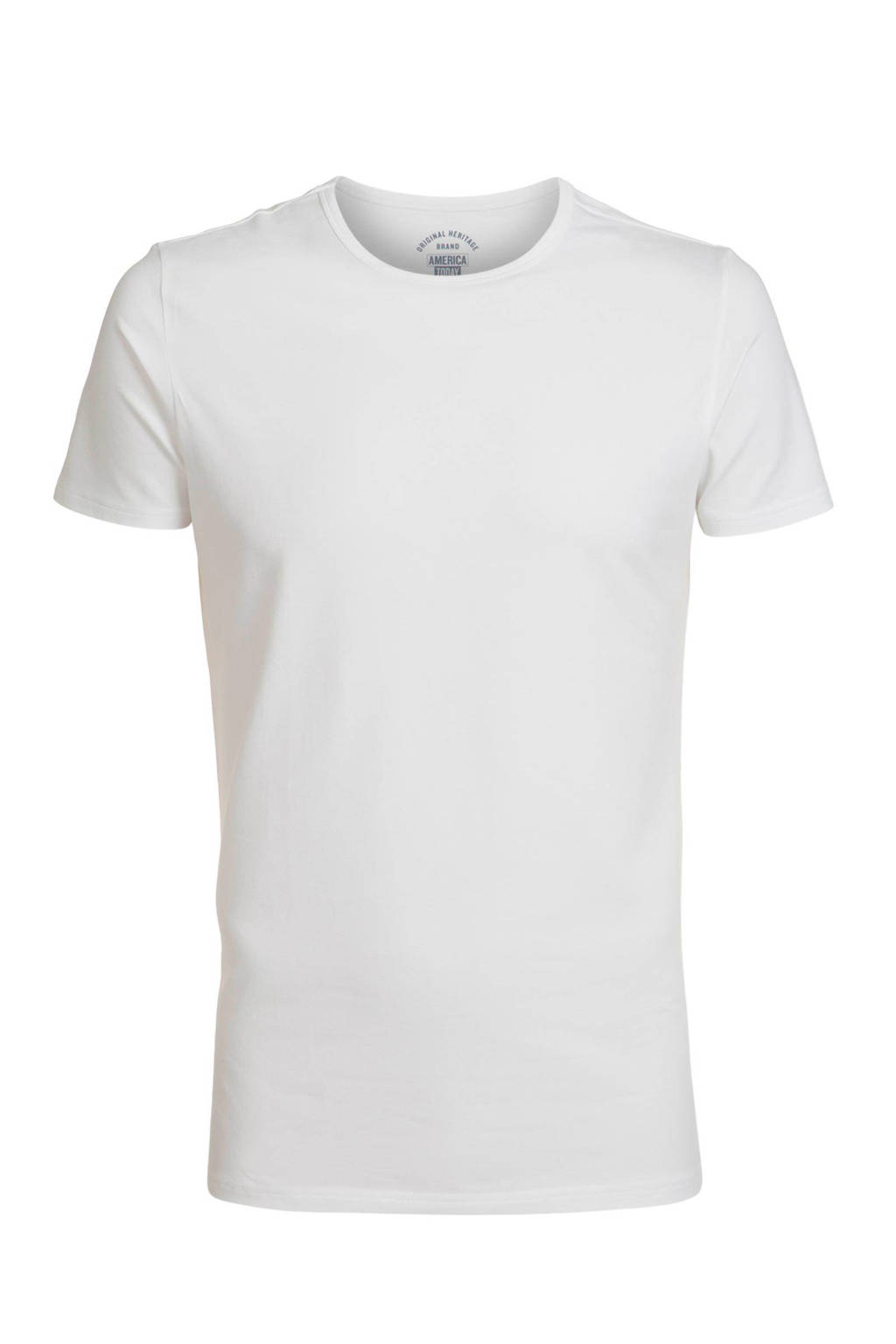 America Today regular fit T-shirt, Wit
