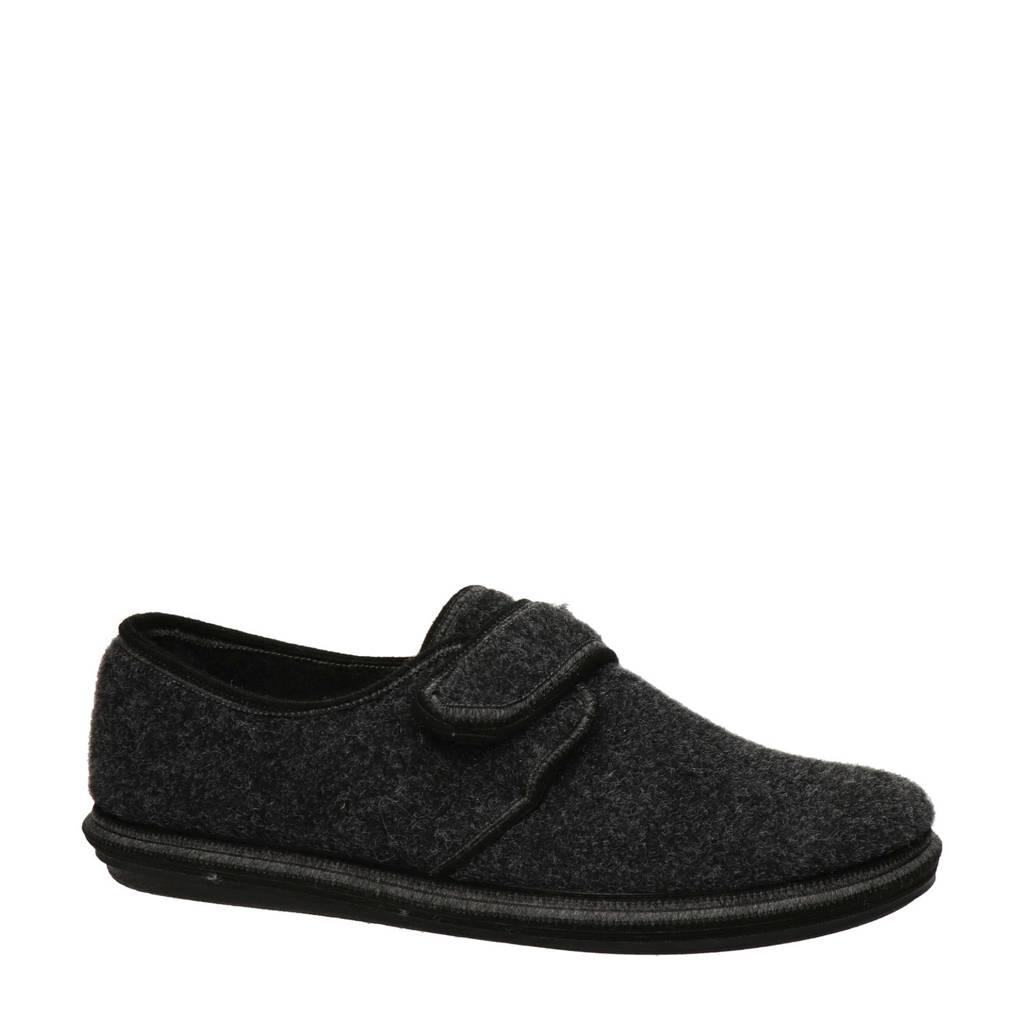 Nelson Home pantoffels grijs, Grijs