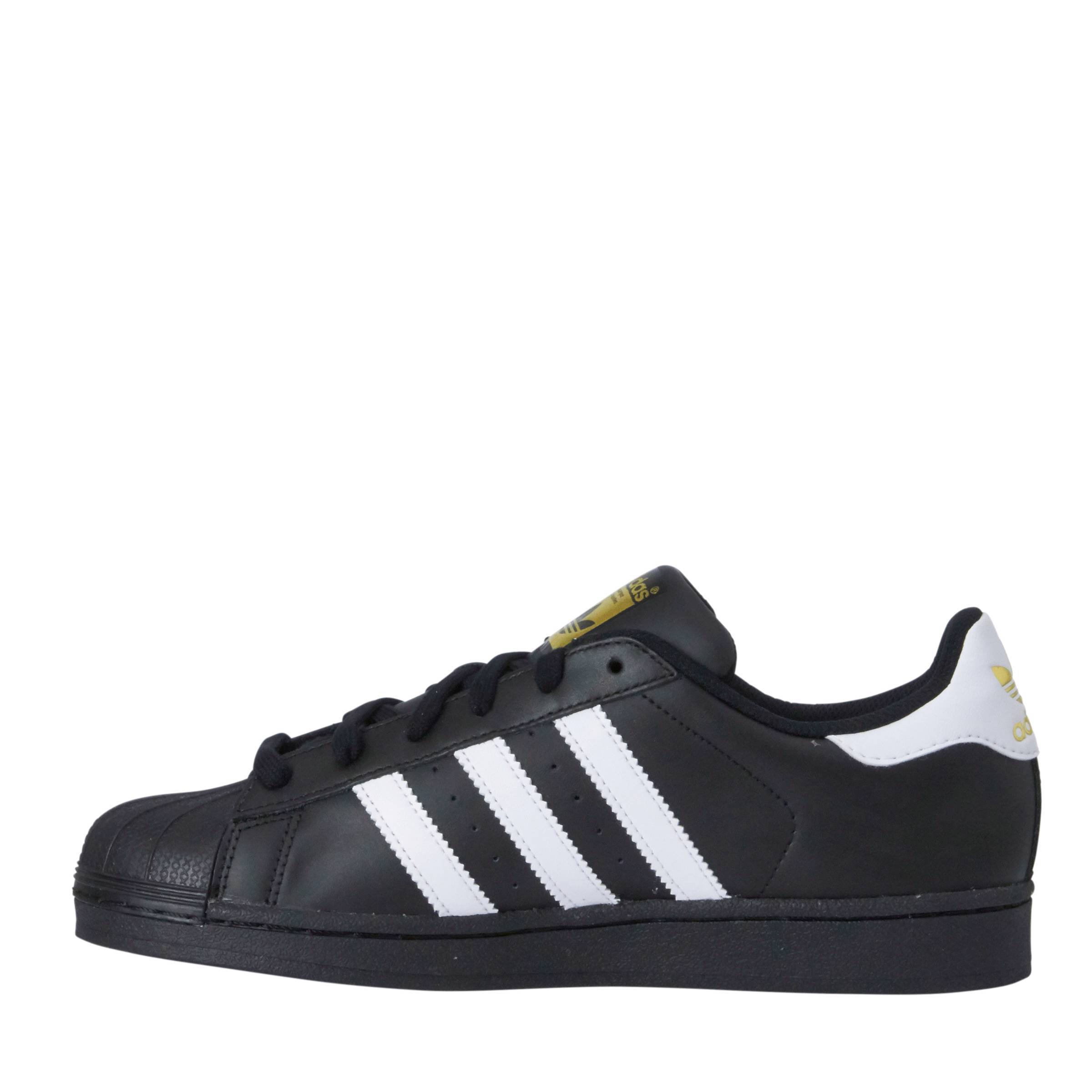 adidas originals superstar foundation zwart