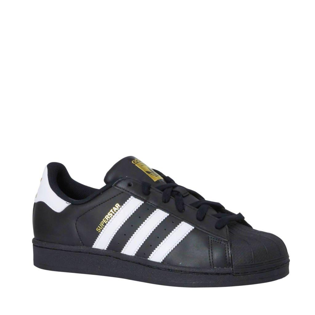 ed3cf76136b adidas originals Superstar Foundation sneakers, Zwart/wit