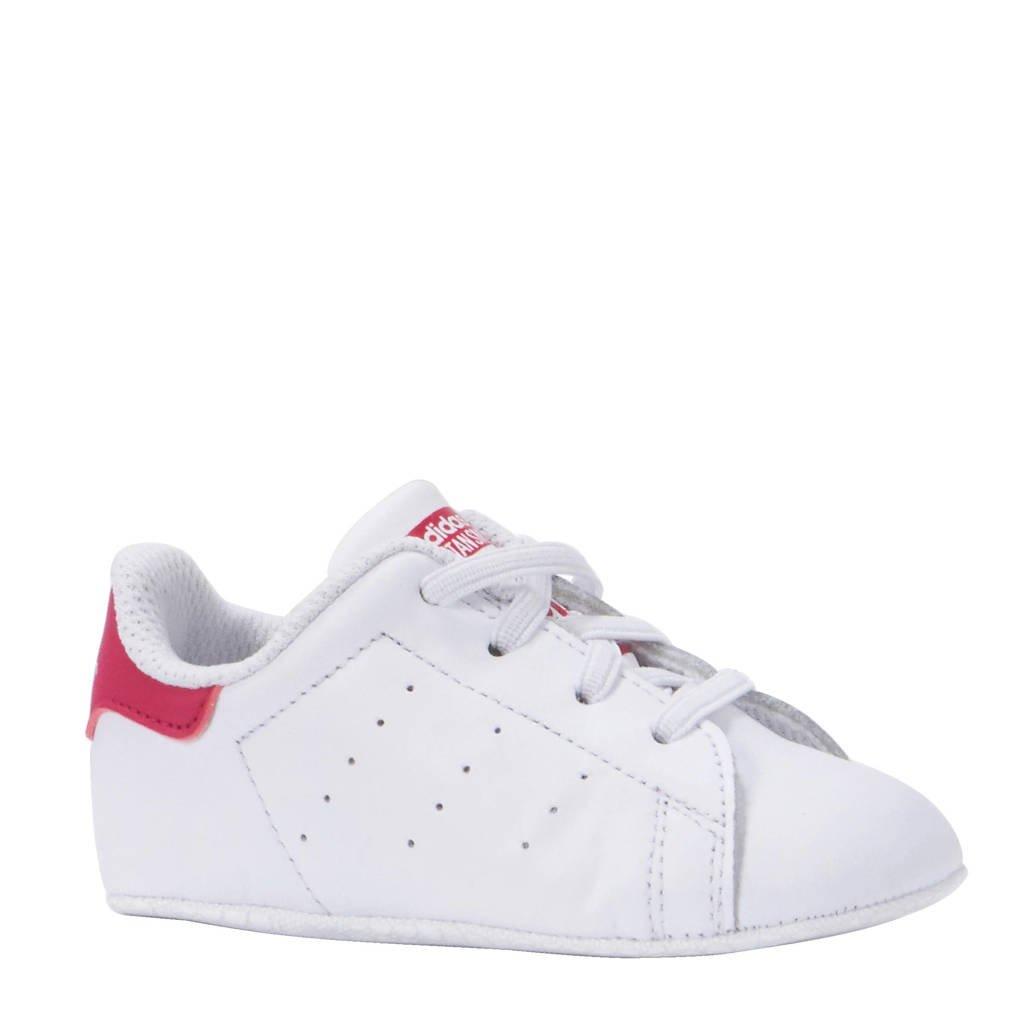72afa90a8de adidas originals Stan Smith Crib sneakers, Wit/roze