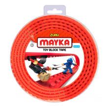 Mayka  blok tape 2 noppen - 2 meter rood