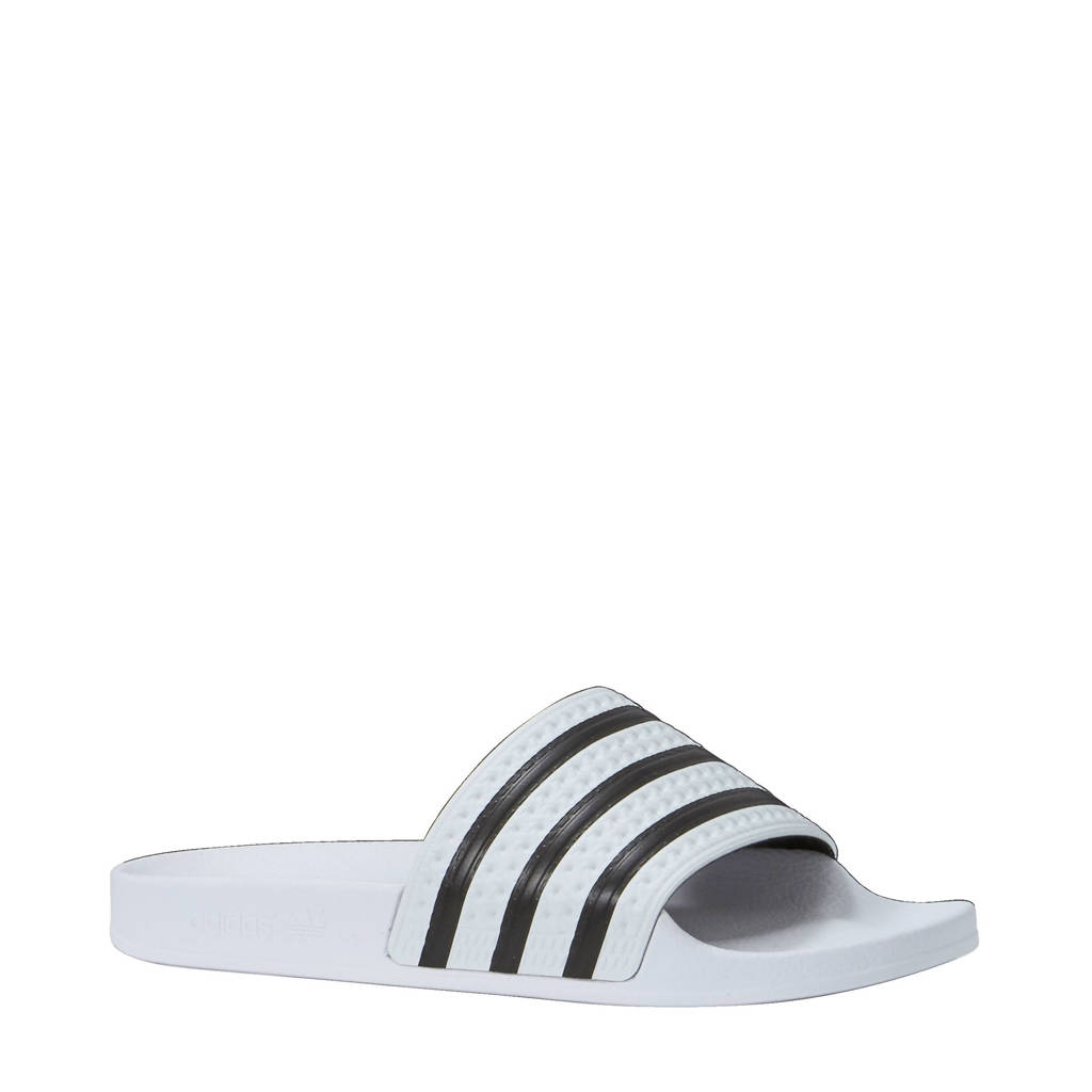 new concept 487cd 7aa6d adidas originals Adilette badslippers, Witzwart