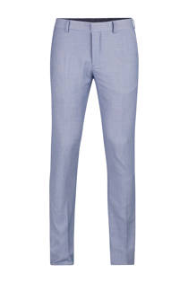 WE Fashion slim fit pantalon Carter blauw (heren)