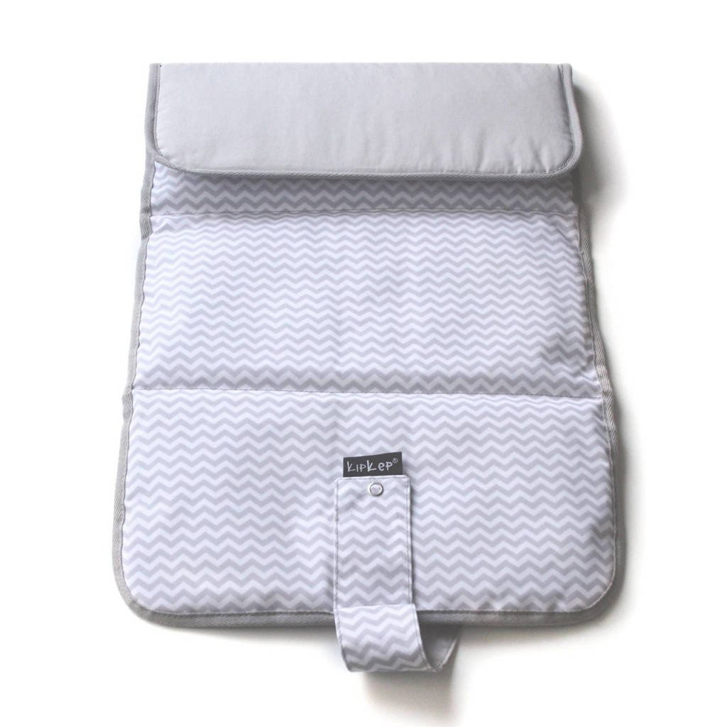 KipKep Napper verschoonmatje ziggy grey, Ziggy grey
