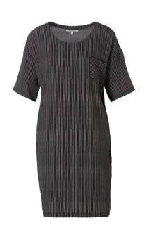 jurk met streep dessin