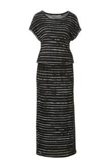 maxi jurk met streep