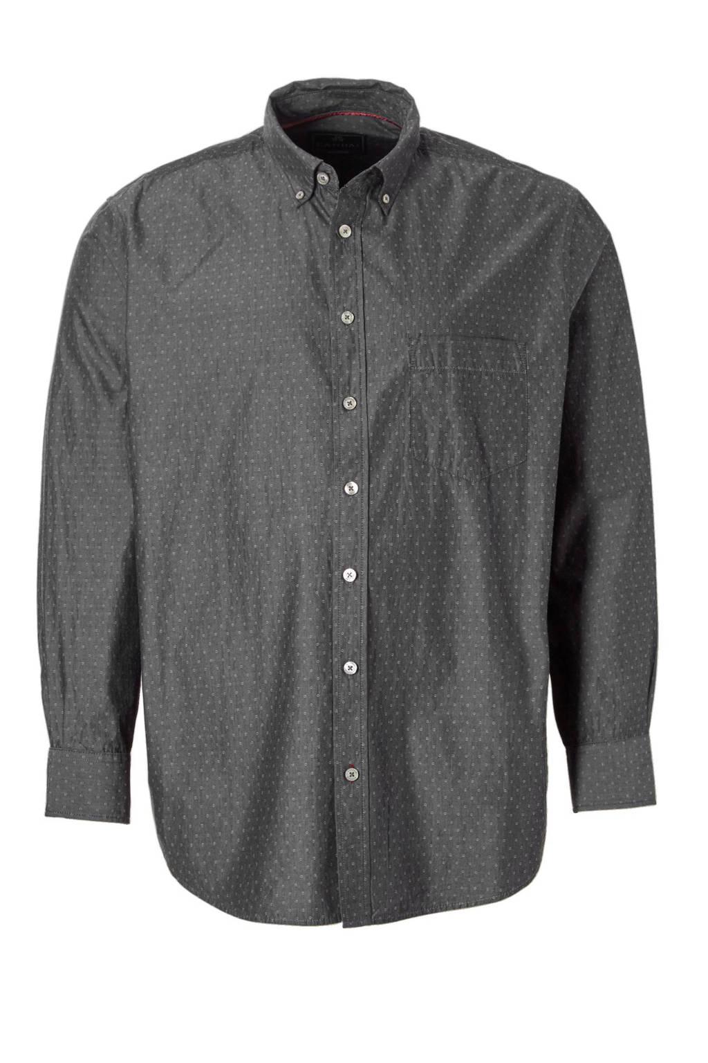 Grijs Overhemd Heren.C A Heren Xl Regular Fit Overhemd Wehkamp