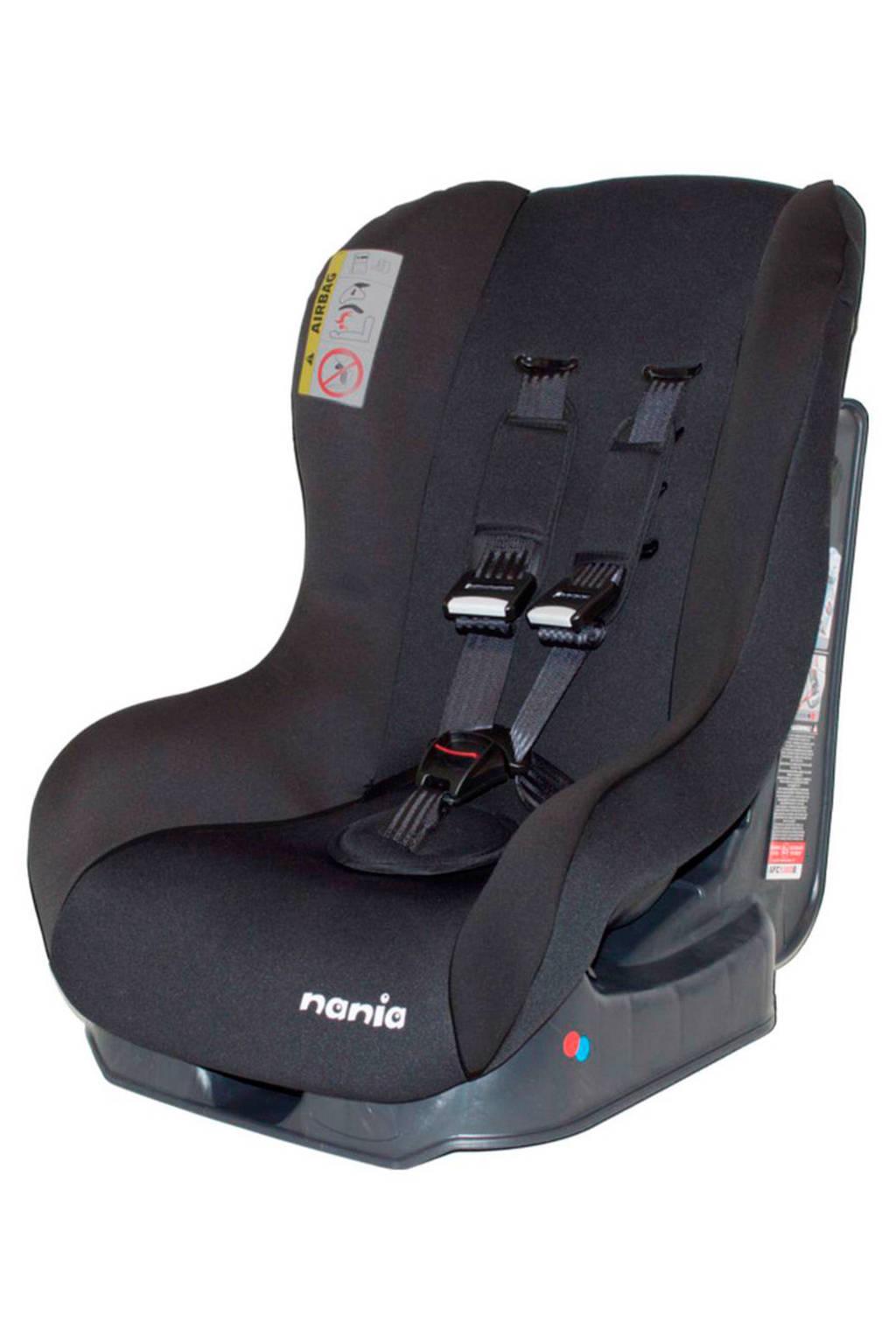 Nania Maxim autostoel (0-18 kg) zwart, Zwart