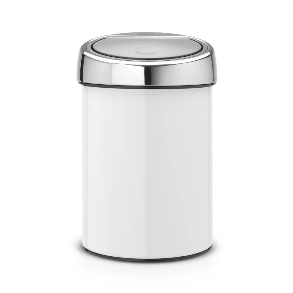Brabantia Touch Bin 3 liter afvalemmer | wehkamp