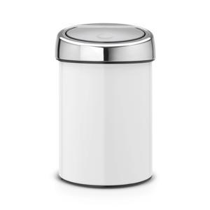 Touch Bin afvalemmer (3 liter) Wit