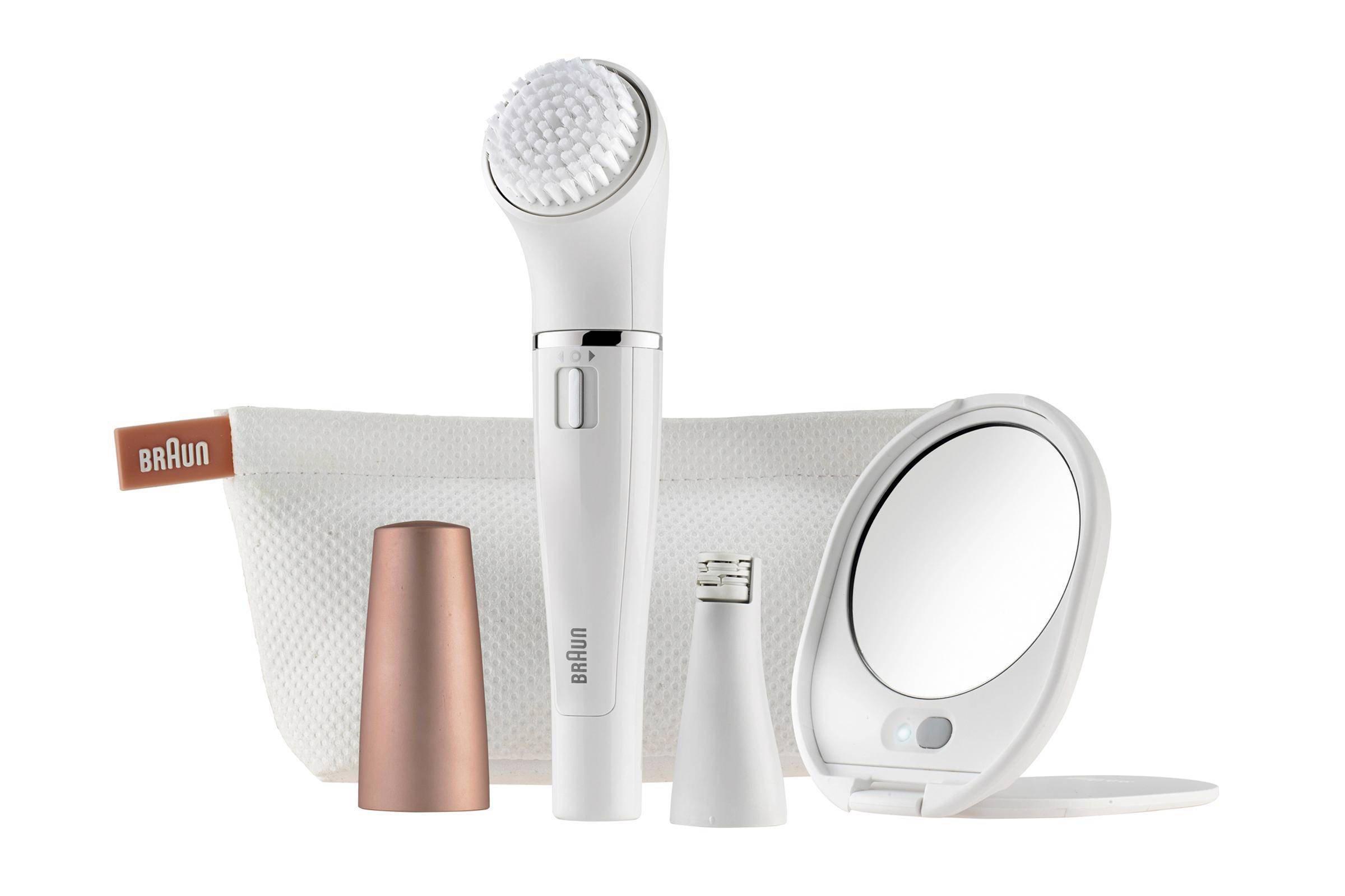 Braun Face Silk-épil SE 831 gezichtsreinigingsborstel + epilator
