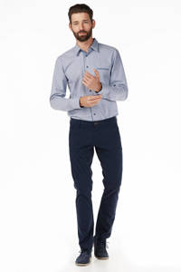 SELECTED HOMME regular fit chino, Donkerblauw