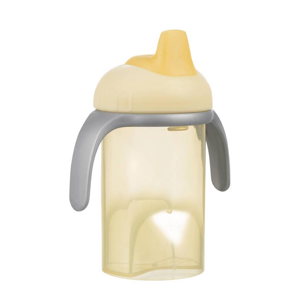 Difrax tuitbeker 6+ mnd 250 ml geel, Geel