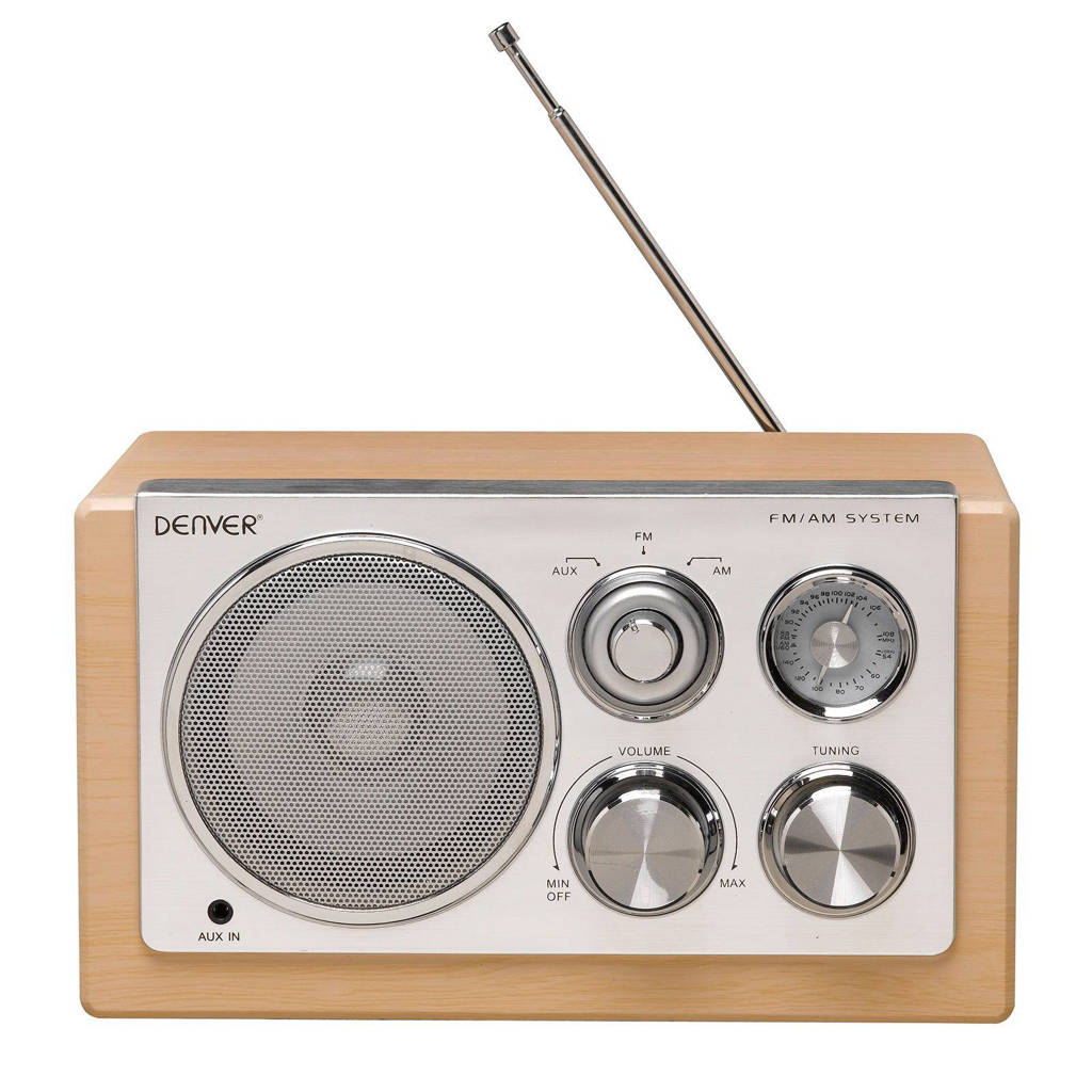 Denver TR-61 draagbare radio hout, Hout