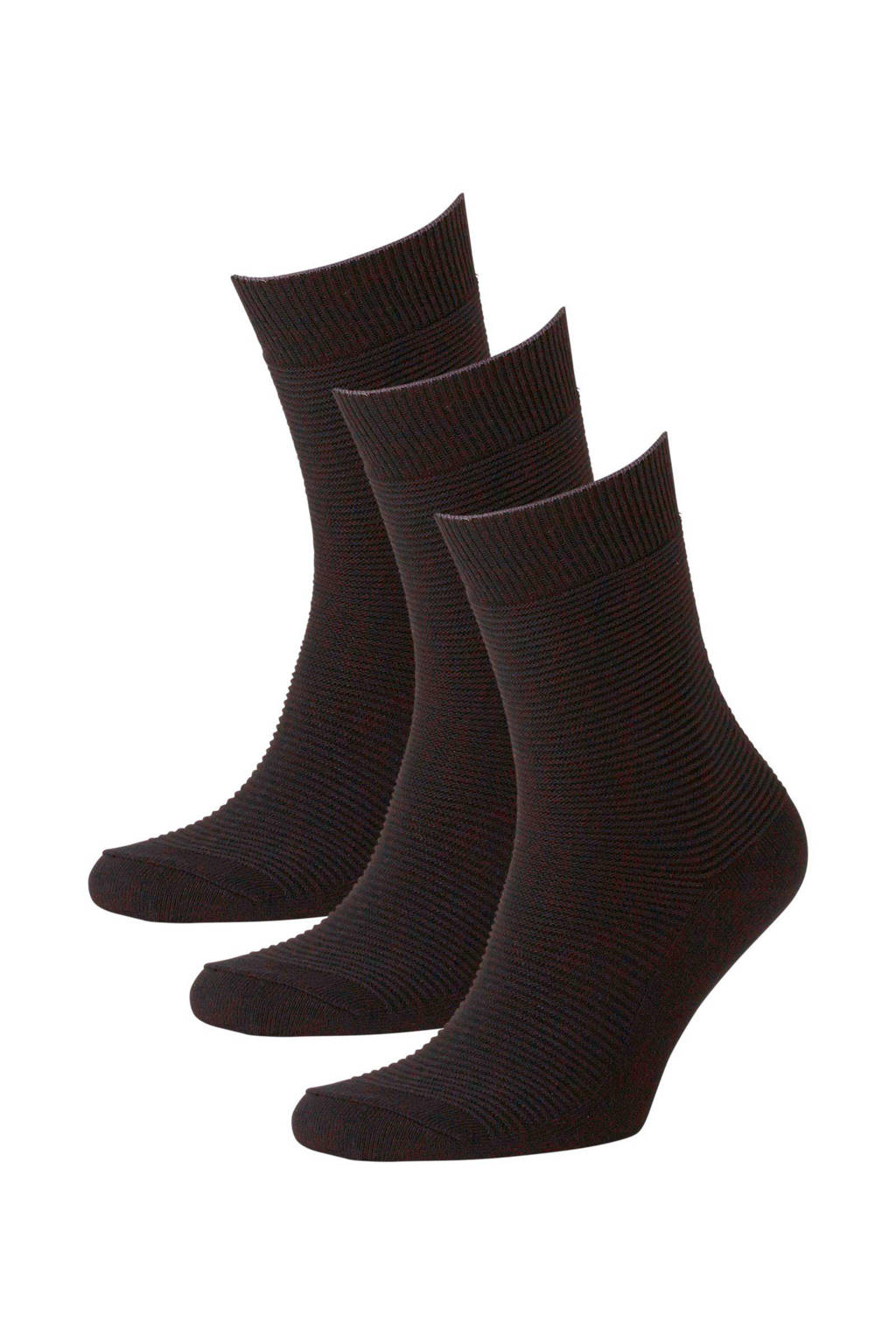 Jack & Jones sokken (3 paar), Zwart