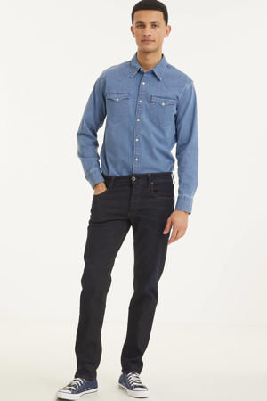 3301 tapered fit jeans dark aged