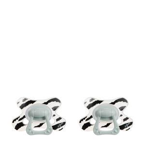 Natural fopspeen dierenprint 18+ mnd (2 stuks) Rory