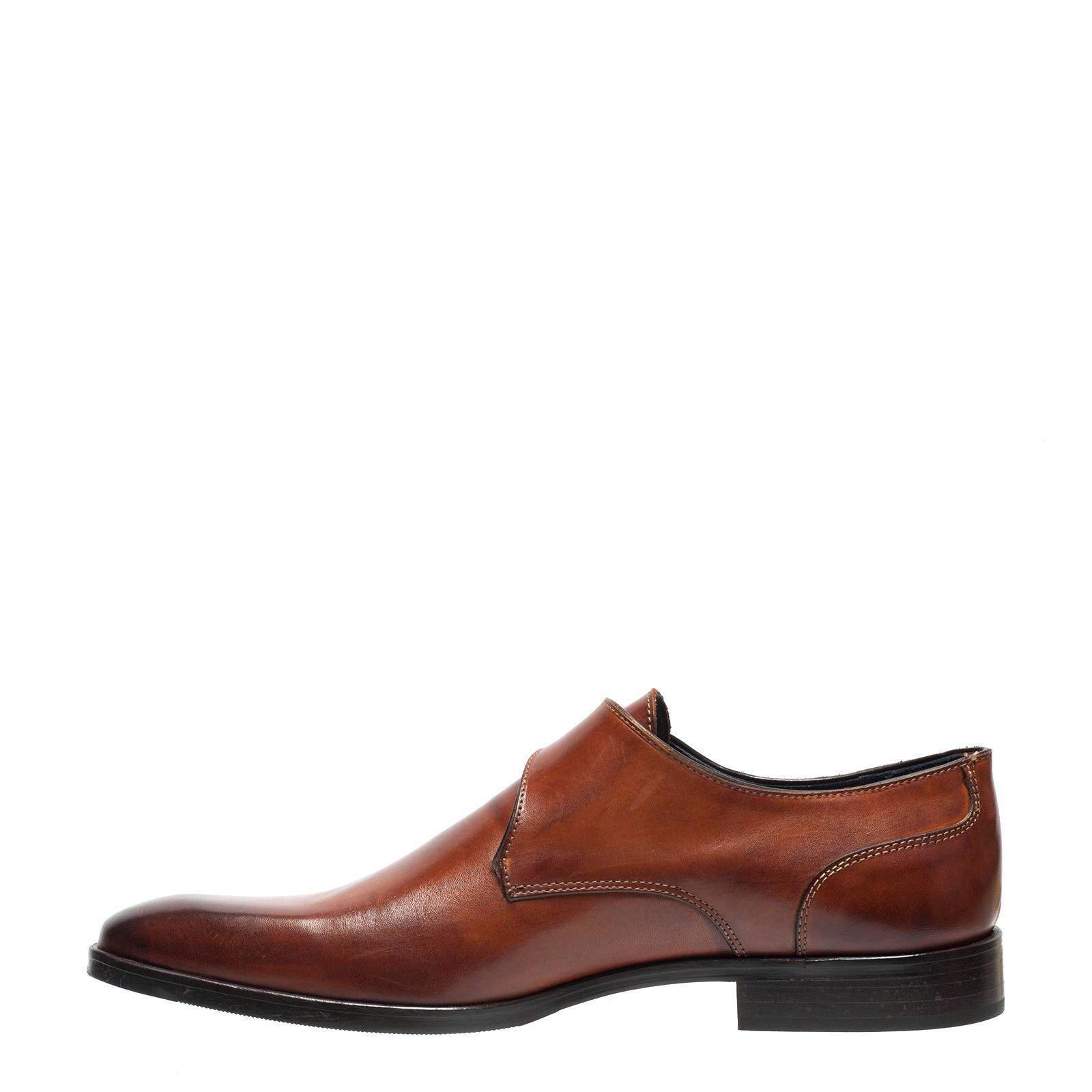 Chaussures Marron Avec Boucle Manfield Pour Les Hommes DpwAHJ