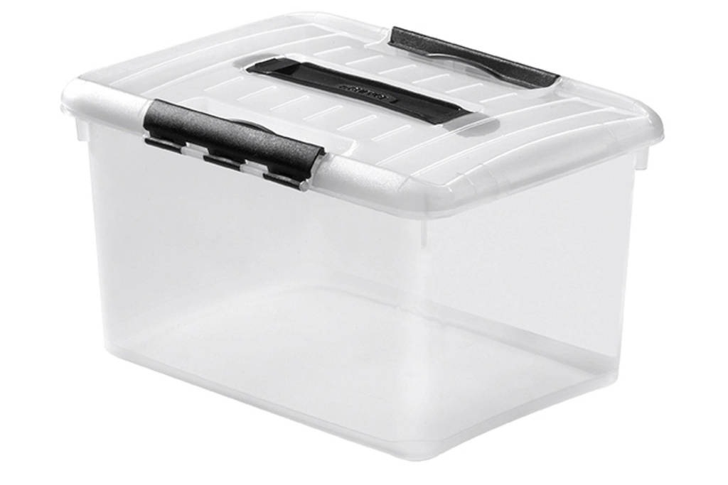 Curver Optima Multiboxx 15 liter, Transparant