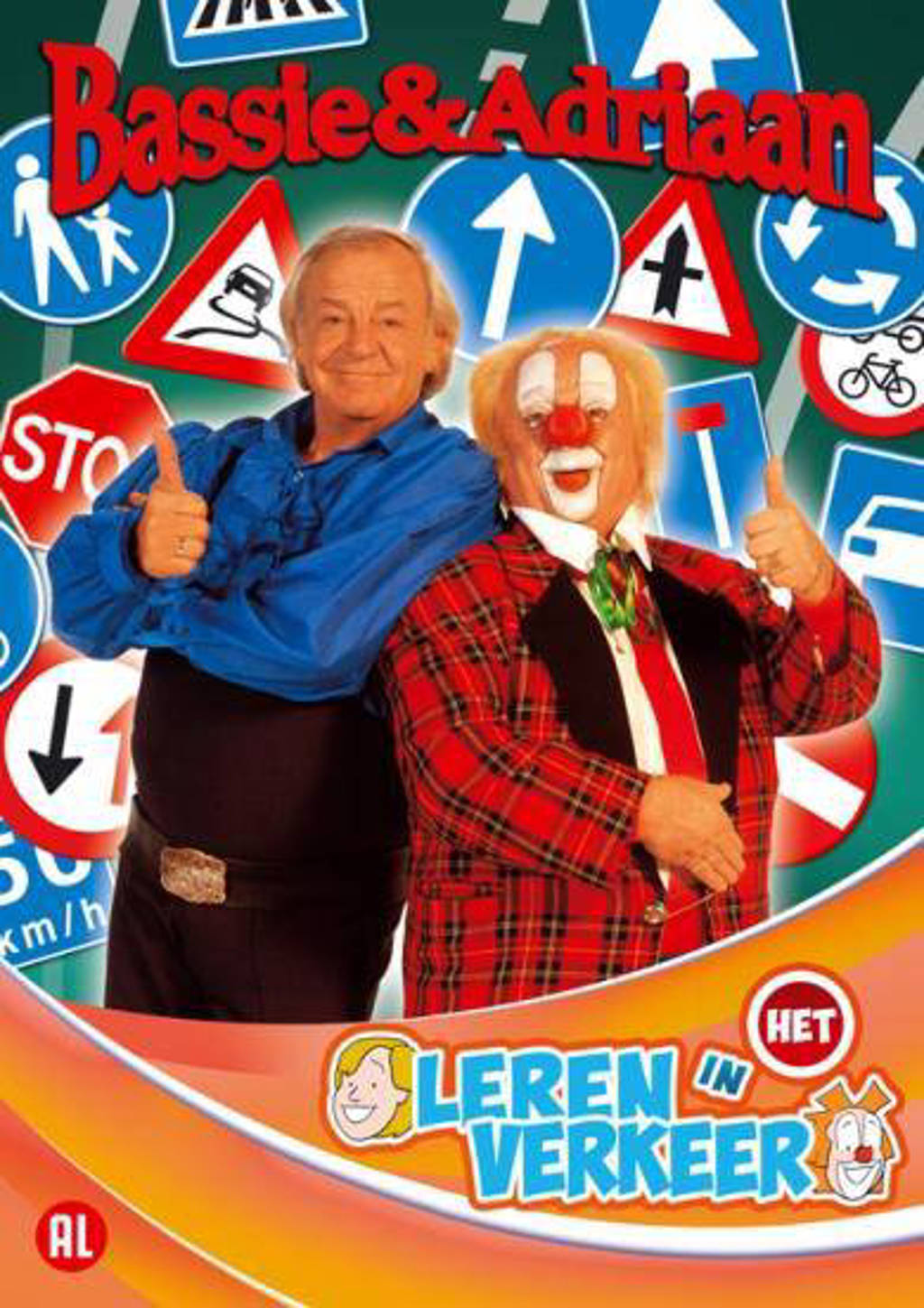 Bassie & Adriaan Leer In Het Verkeer (DVD)