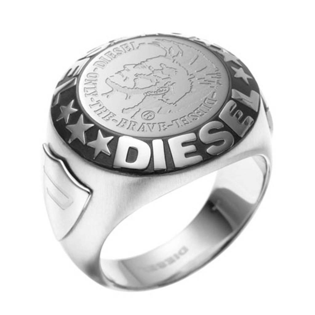 Diesel ring, Zilverkleur