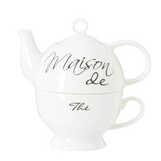 theepot 'Maison de Thé For One'