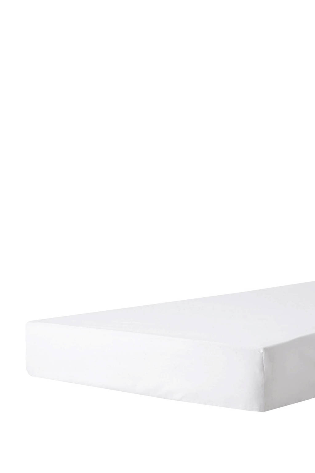 Beddinghouse perkalkatoenen hoeslaken Wit