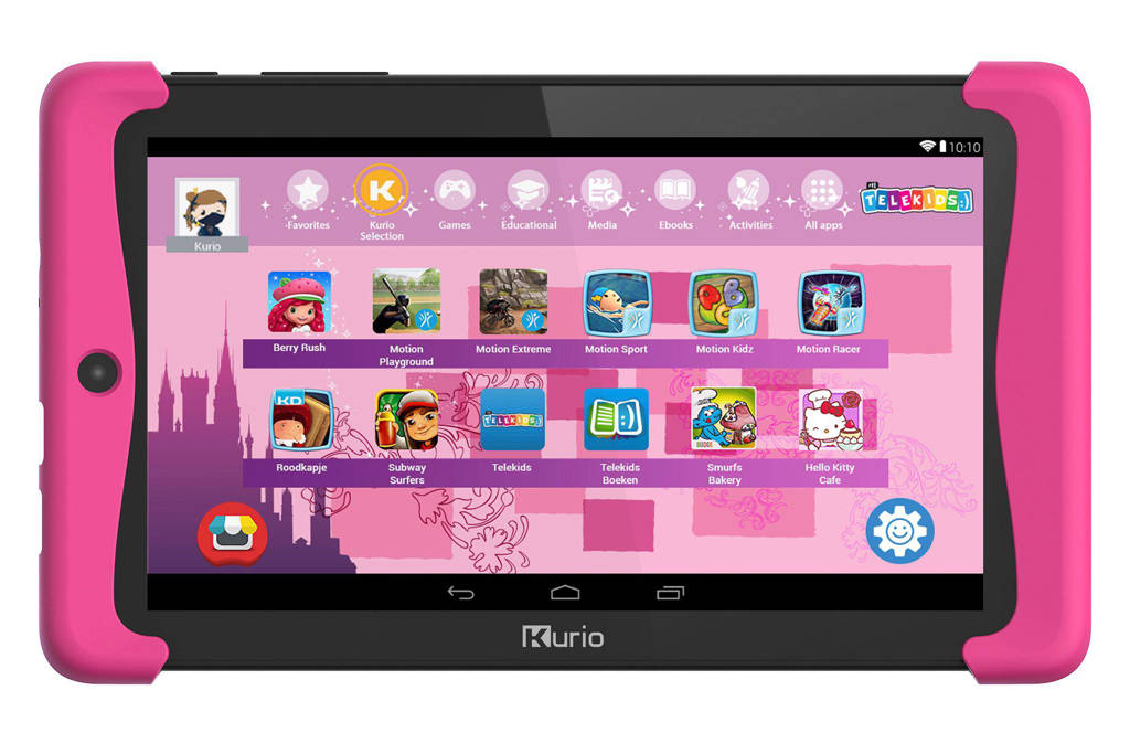Roze Kinder Tablet.Kurio C15115 Tab 2 Telekids Kinder Tablet Wehkamp