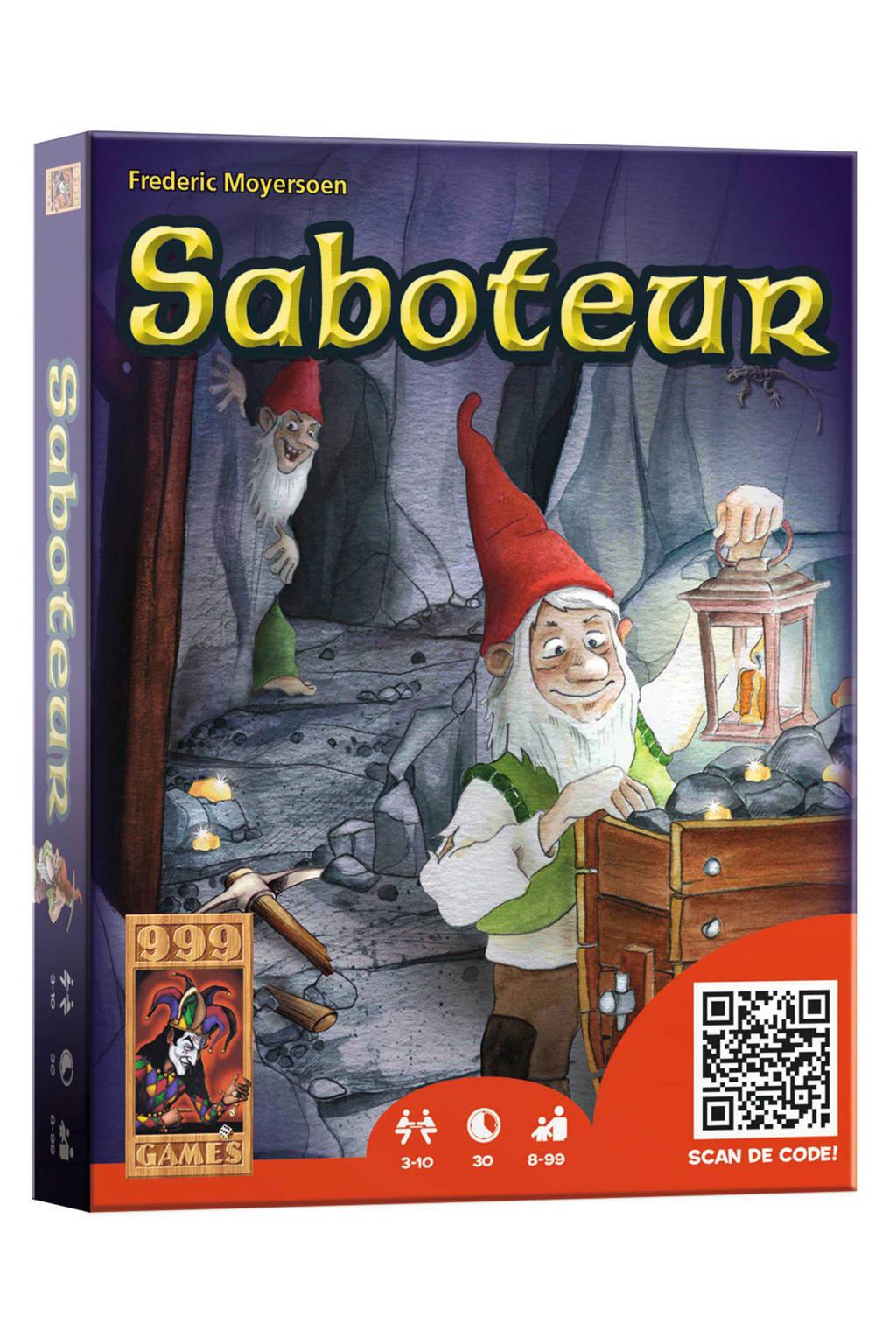 999 Games SABOTEUR kaartspel