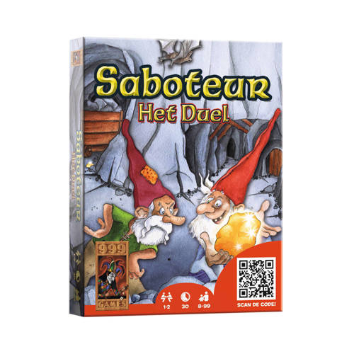 999 Games Saboteur het duel kaartspel kopen