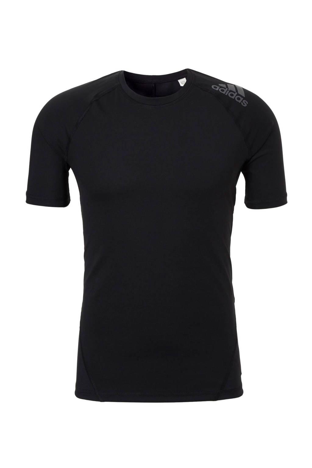 adidas performance   sport T-shirt, Zwart