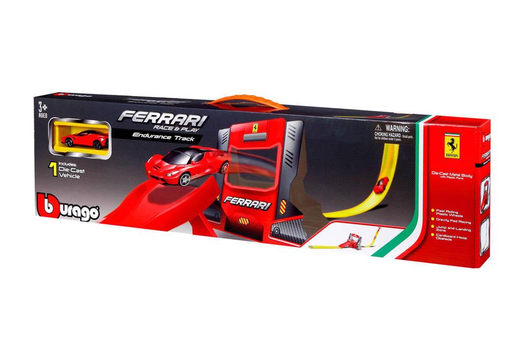 Bburago Racebaan Ferrari set 1:64