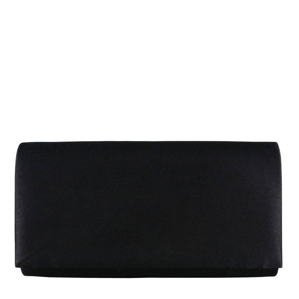 Bulaggi  party clutch zwart, Zwart