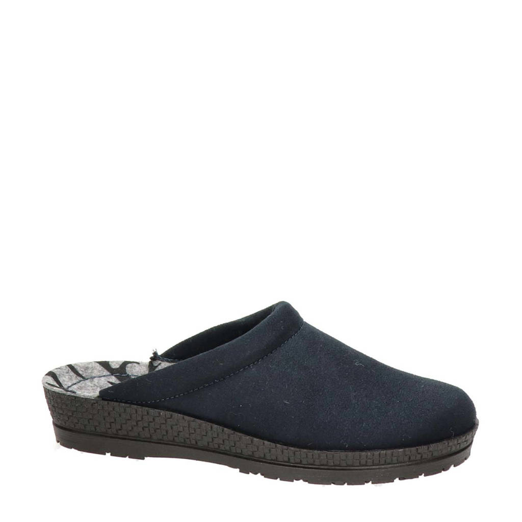 Rohde pantoffels blauw, Blauw
