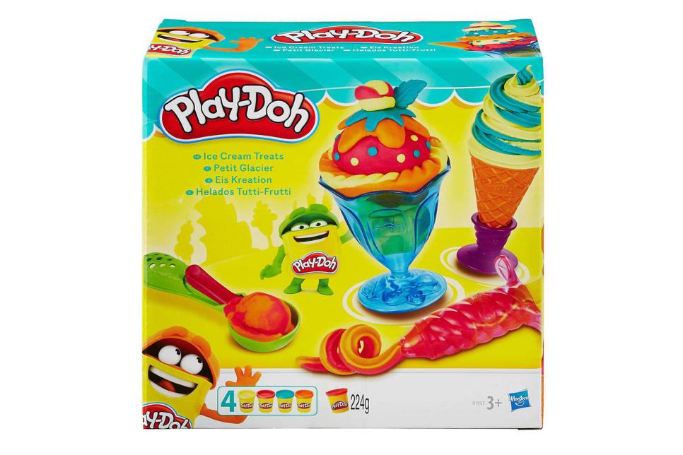 Play-Doh ice cream treats ijsjesmaker