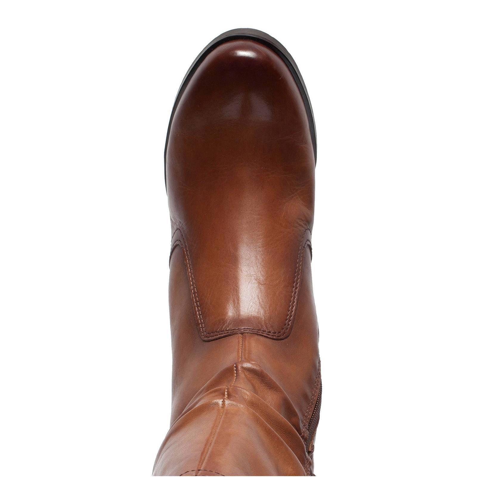 No Stress leren laarzen cognac | wehkamp