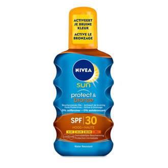 SUN Protect & Bronze Olie Spray SPF 30 - 200 ml